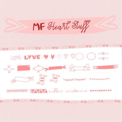 Mf Heart Stuff by Misti's Fonts