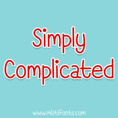 Simply Complicated