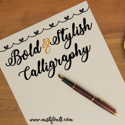 Bold & Stylish Calligraphy