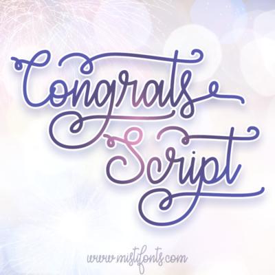 Congrats Script