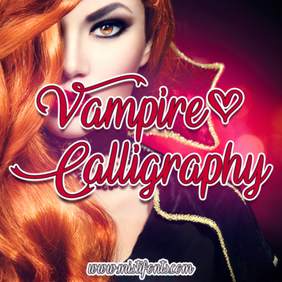 Vampire Calligraphy