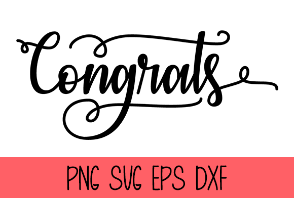 Congrats Graphic by Misti's Fonts