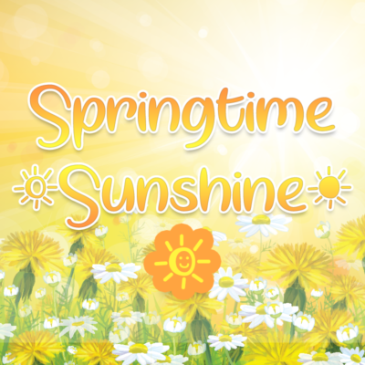 Springtime Sunshine by Misti's Fonts