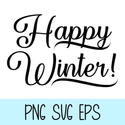 Happy Winter – Graphic