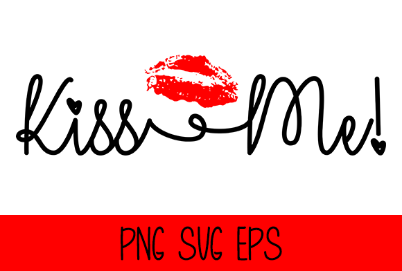 Kiss Me Graphic by Misti's Fonts