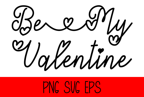 Be My Valentine Graphic by Misti's Fonts