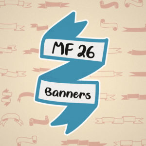 MF 26 Banners Typeface by Misti's Fonts