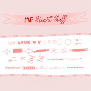 Mf Heart Stuff by Misti's Fonts