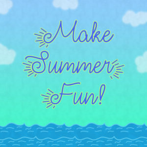 Make Summer Fun Typeface by Misti's Fonts