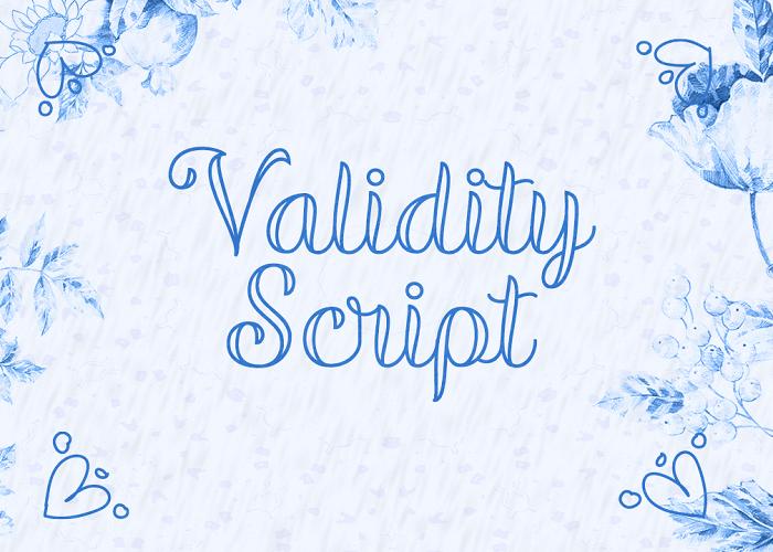 validity-script