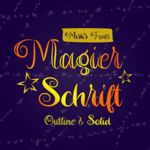 Magier Schrift Typeface by Misti's Fonts