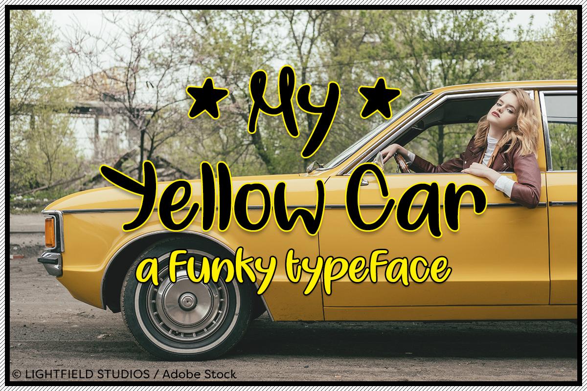 my-yellow-car