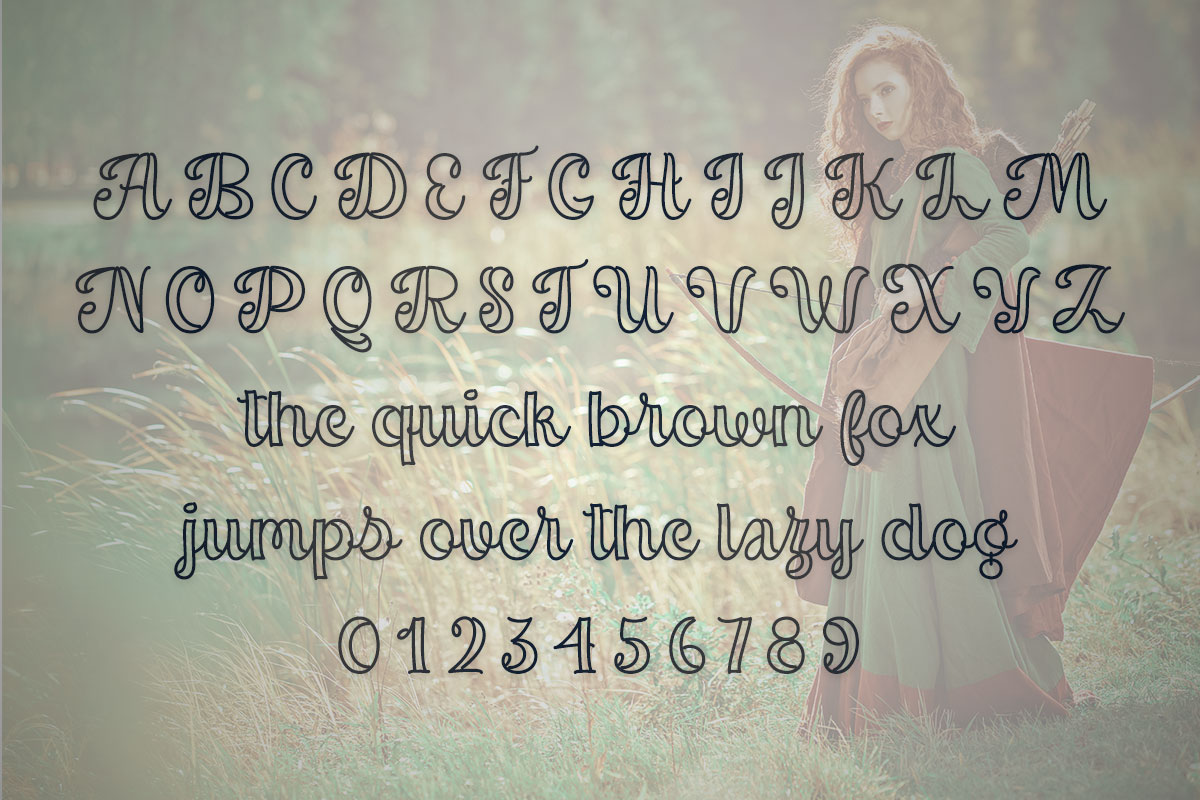 Magnilda Typeface by Misti's Fonts