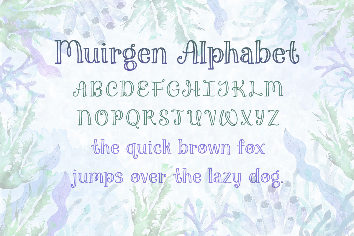 Muirgen Alphabet