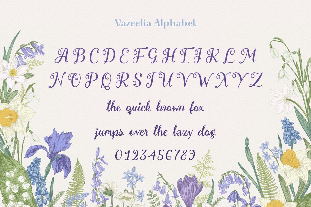 Vazeelia Alphabet