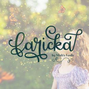 Faricka Typeface by Misti's Fonts