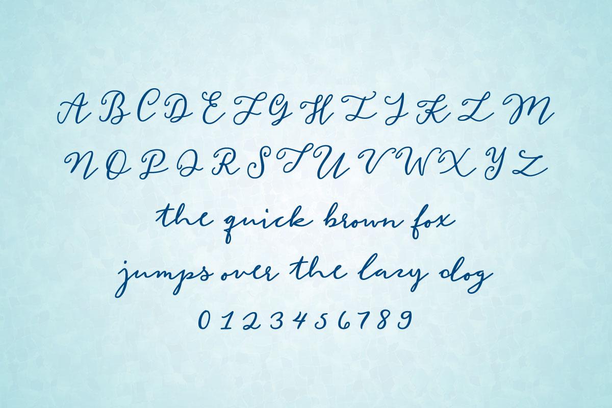Mermaid Confetti Alphabet