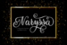Naryssa Typeface by Misti's Fonts