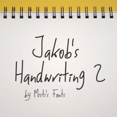 Jakob's Handwriting 2